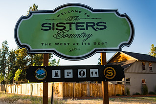 Sisters Oregon sign | by m01229