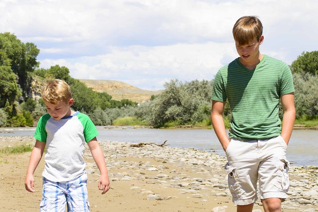 Discovery Walk by the River - Curious Brothers