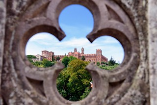 Fundación Comillas vista desde el Palacio de Sobrellano | by daaot
