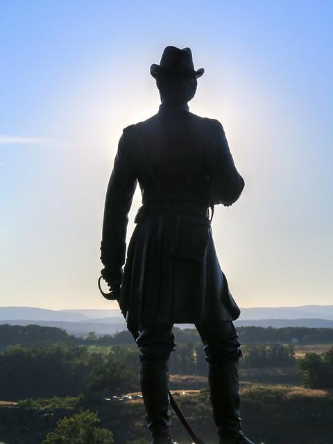 Brigadier General Gouverneur Kemble Warren @ Gettysburg Battlefield