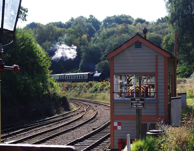 RD12452.  Norchard on the Dean Forest Railway.