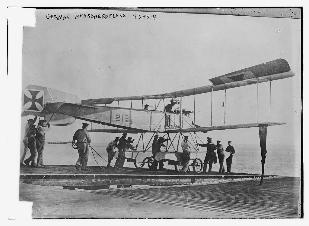 German hydroaeroplane (LOC)