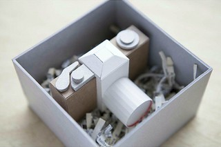 Paperboard Camera in Handmade Box | by all things paper