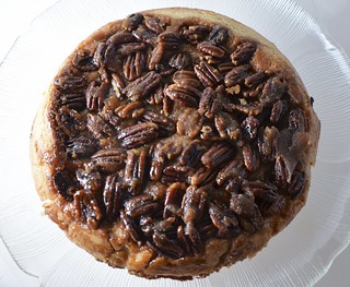 Upside Down Apple Pecan Pie | by I Sing In The Kitchen