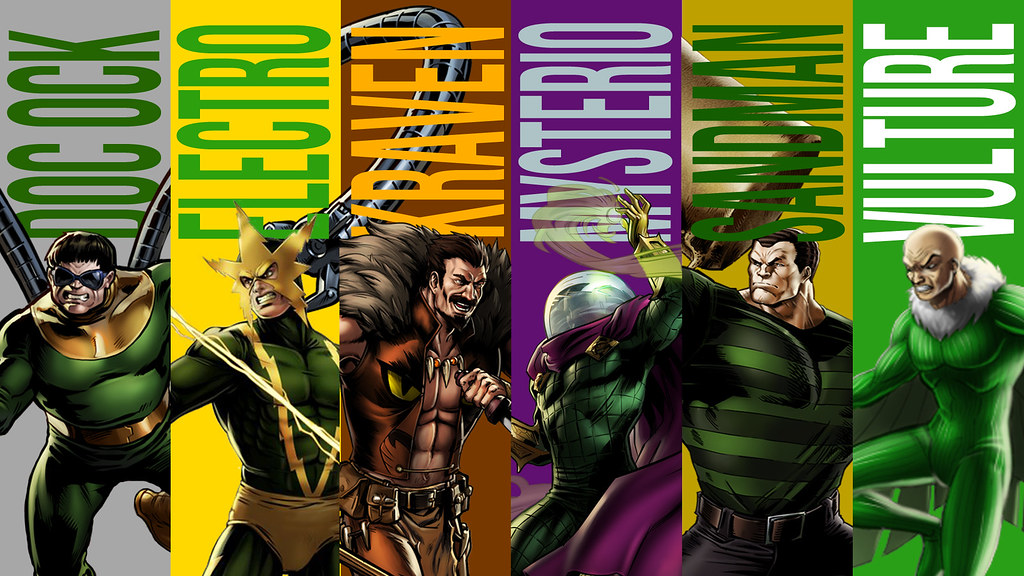 Sinister Six Wallpaper | Since I haven't uploaded anything t… | Flickr
