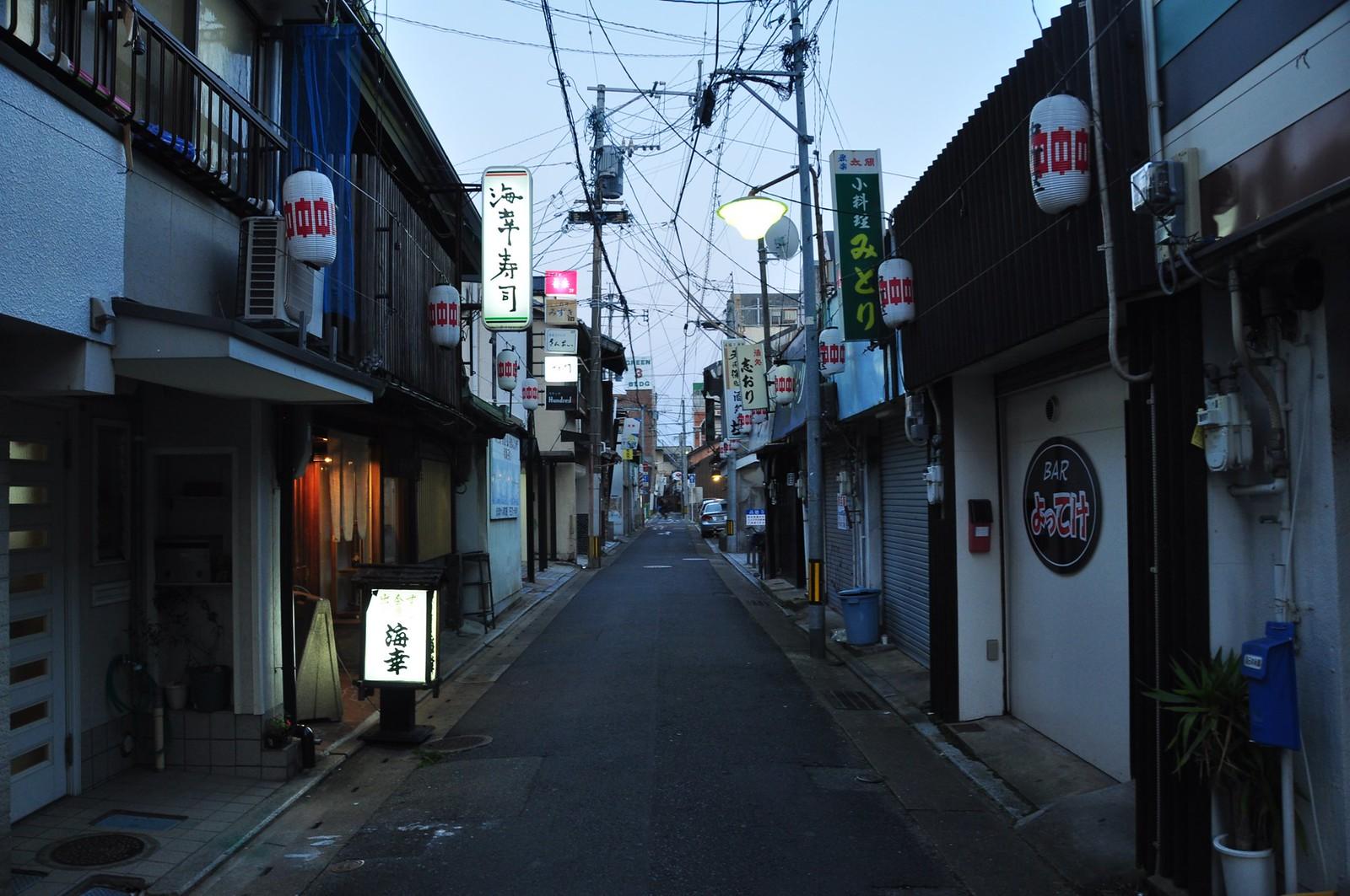 An alley at Karatsu
