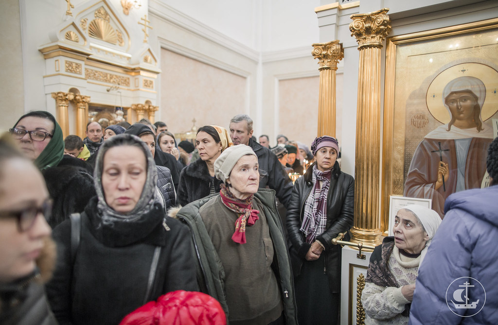 13 ноября 2016, Лиутргия в Екатерининском соборе города Пушкин / 13 November 2016, Liturgy in the Cathedral of St. Catherine in town of Pushkin