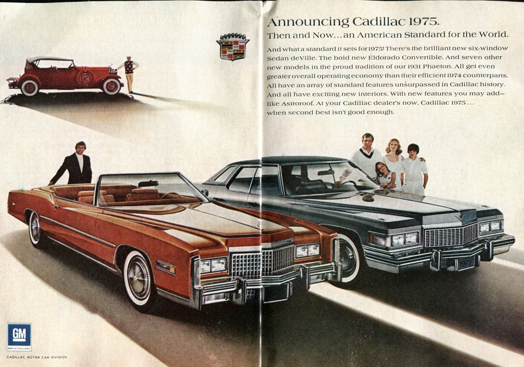 1975 Cadillac Advertisement Readers Digest October 1974