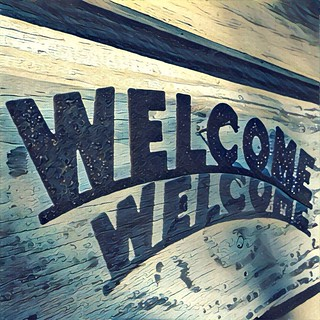 Welcome Welcome | by Howdy, I'm H. Michael Karshis