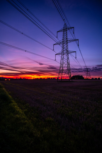 sunset sky field clouds fuji power purple farming norfolk norwich powerline 12mm agriculture pylons xe1 samyang samyang12mm
