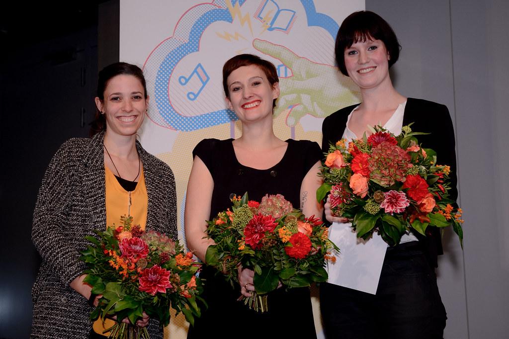v.l.n.r. Elisabeth Winter, Nora Burgard-Arp, Anke Dankers
