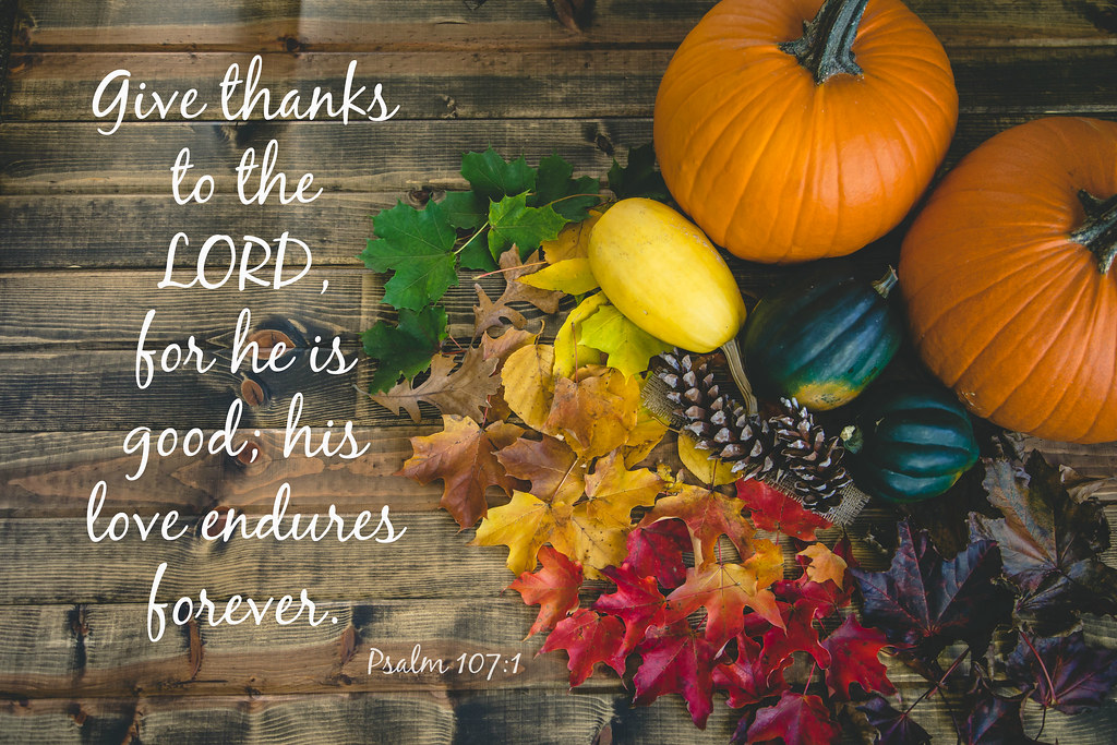 Image result for Thanksgiving Give Thanks to the Lord