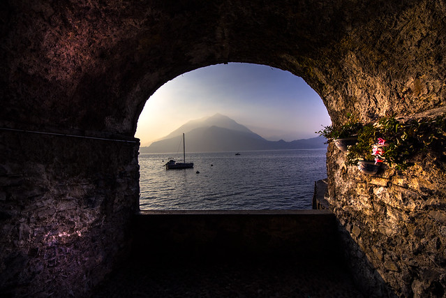 Special view to Lake Como - Varenna - Italia