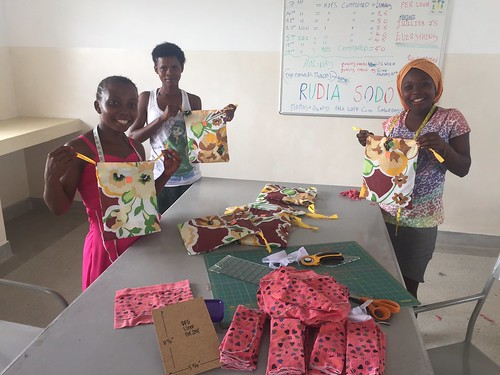 Very busy producing the kits | by The Good Life Orphanage