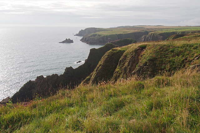 The Aberdeenshire coast between Boddam and Longhaven Cliffs