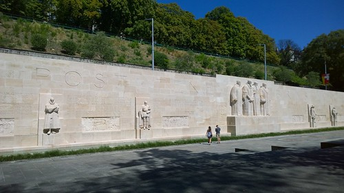 Reformation wall at Geneva, Switzerland | by AliquisNJ