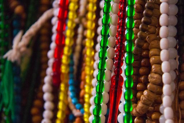 Praying beads, Meybod shrine, Iran