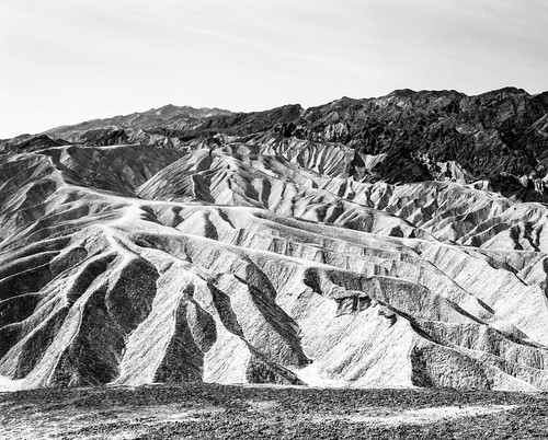"Image titled ""Zabriskie Point, Death Valley."""