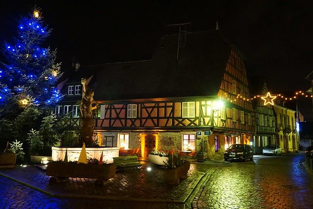 Kientzheim à Noël  -  Kientzheim in Christmas