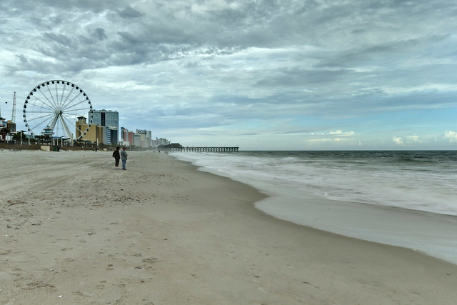Myrtle Beach Boardwalk and Promenade, Myrtle Beach, Horry County, South Carolina 1