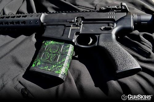 Gunskins Reaper Z Mag Skin