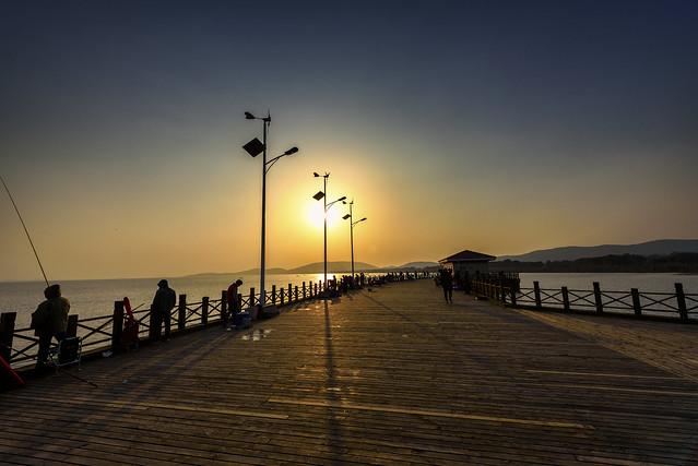La bahía de los pescadores.