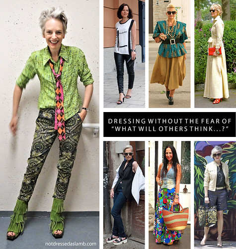 """Dressing without the fear of """"What will others think...?"""" 