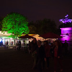 Book Festival evenings | The Gardens all a-glow during a beautiful summer's evening at the Book Festival © Alan McCredie