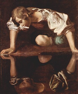caravaggio_narcissus_1598   by Art Gallery ErgsArt