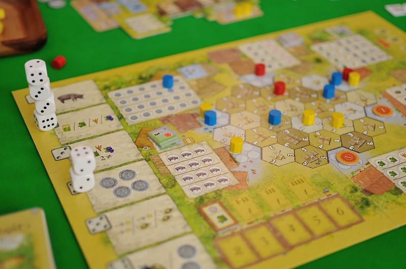 Best Farming Board Games La Granja main board