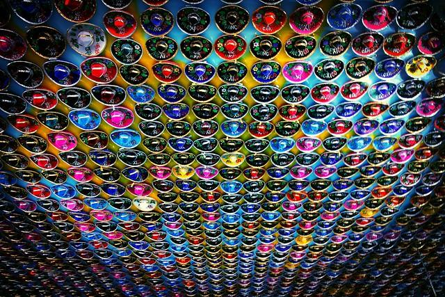 I see sombrero everywhere! - Playa del Carmen - Mexico