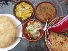 Desi Nasta | Local Breakfast | 😊🍴🍲🍛🍞☕️