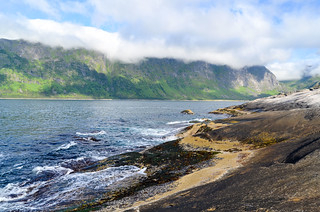 Cycling on Senja, Norway | by jbdodane