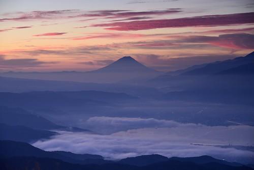 mtfuji morning morningglow fujisan nagano takabocchi seaofclouds lake suwako