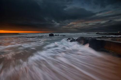 seascape clouds rocks australia newsouthwales aus merewether watermovement nikon1635mmf4 paulhollins nikond750