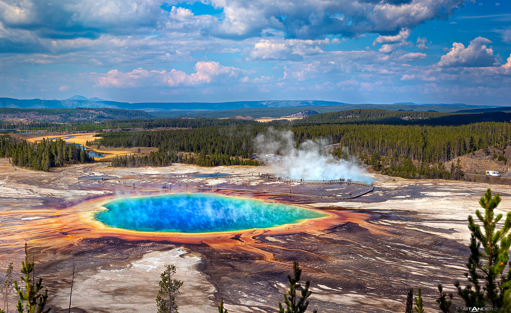 The Morning Glory Pool   Yellowstone National Park This