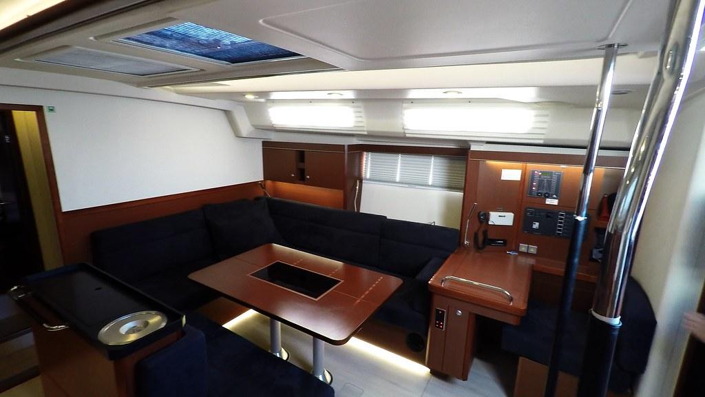 Sailing Yacht Hanse 505 Salon Interior Free To Use This Ph Flickr