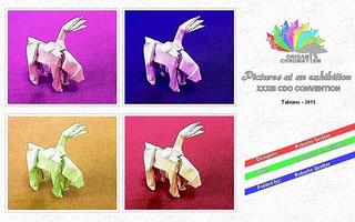Origami Chromatism - Roberto Gretter - La renna