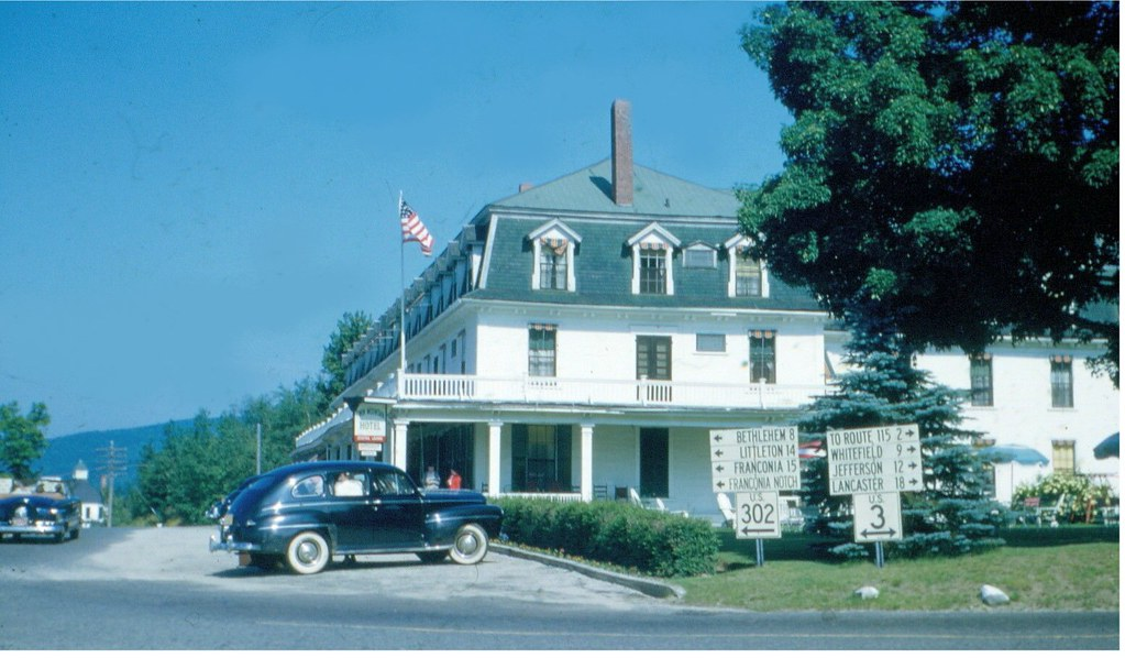 Twin Mountain Nh >> Twin Mountain Hotel Twin Mountains Nh Early 1950s Flickr