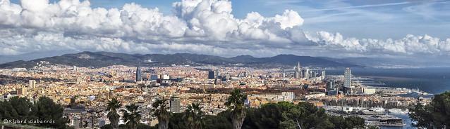 2237  Barcelona a vista de pájaro