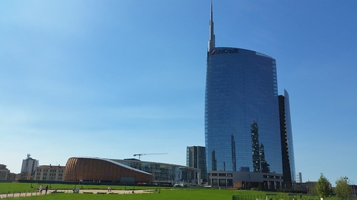 Porta Nuova: Wheatfield, Unicredit Pavilion e Torre Unicredit | by Ale Desiderio