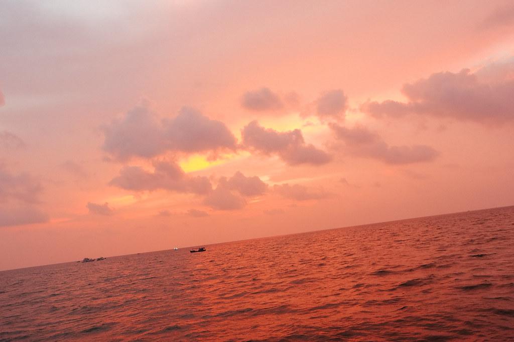 Sunset at Phu Quoc, Vietnam