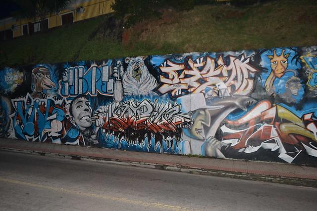 Graffiti auf Rua João Pio Duarte Silva 3