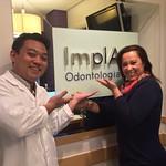 Agradecemos a paciente Marleide Barros pela confiança. Nos da equipe ImplArt estamos felizes com o resultado. A possibilidade de um sorriso aberto faz muita diferença tanto fisicamente, quanto na auto estima do paciente. Os benefícios de um tratamento bem