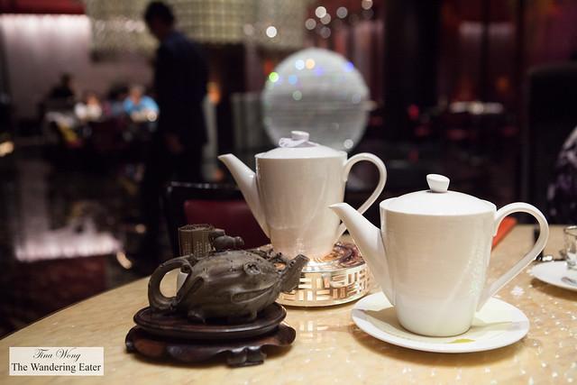 Our pots of tea