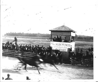 1898 - Horse Race with judge stand | by historic.bremen