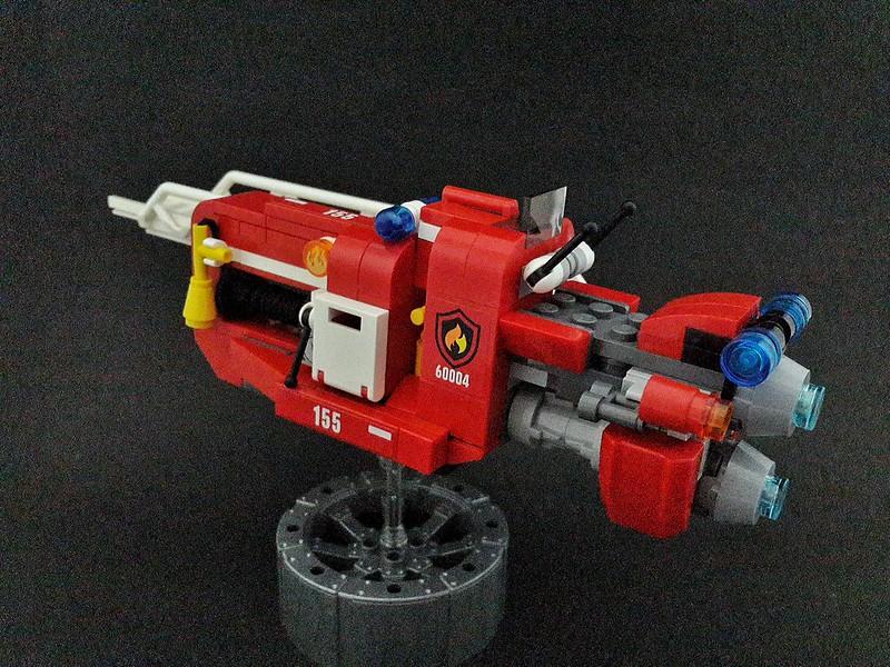 My MOC - fire speeder with ladder