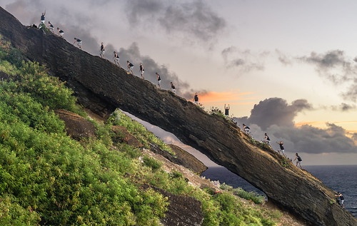 Koko Crater Arch   by Marvin Chandra