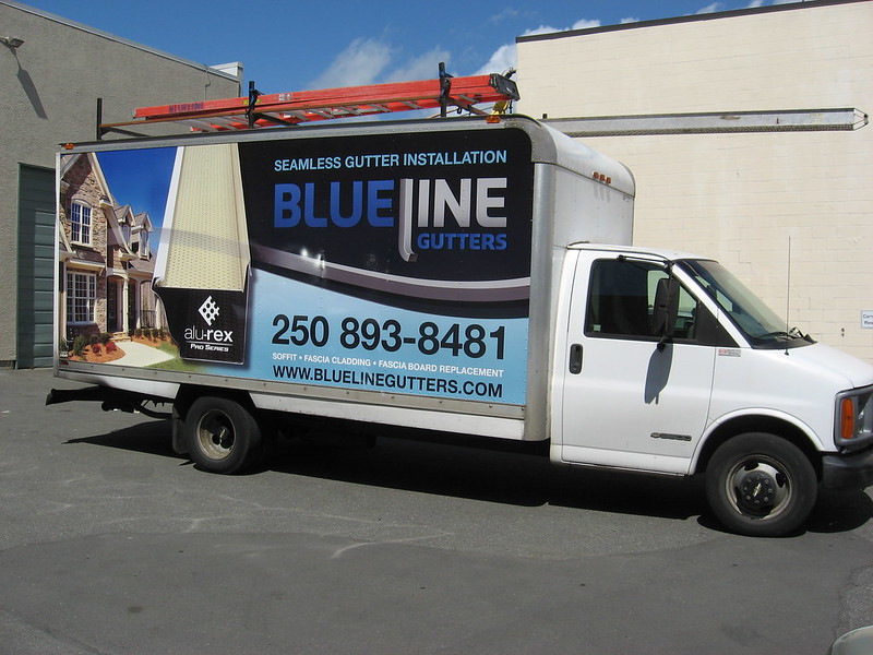 Blueline vehicle graphics