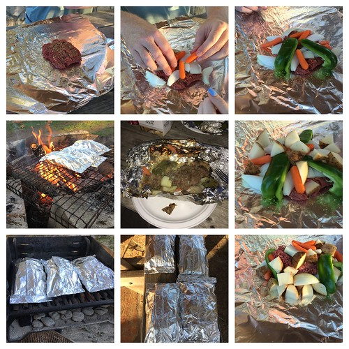 Foil Dinners by Campfire on the Guadalupe River | by Wesley Fryer